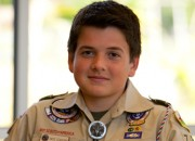 Former Washington resident, Nathaniel Stafford received recognition for boy scout project.