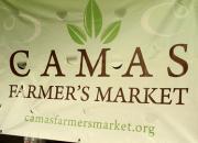 Camas Farmer's Market Banner