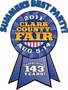 Clark County Fair Logo 2011