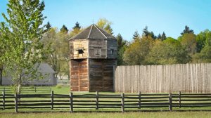 Fort Vancouver Bastion