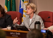 """The citizens have been duped into believing they would have a say if light rail proceeded,"" asserts Jeanne Stewart."