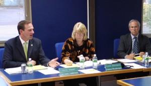 C-Tran board members Steve Stuart, Linda Dietzman and Marc Boldt.