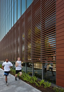 Fort Vancouver Community Library with Runners