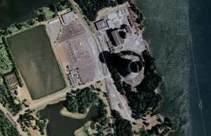 The Trojan nuclear power plant