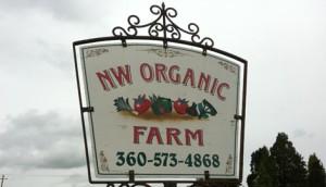 NW Organic Farm Sign