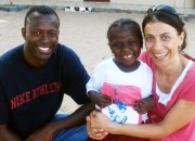 Sol and Manuela Bah in Gambia.